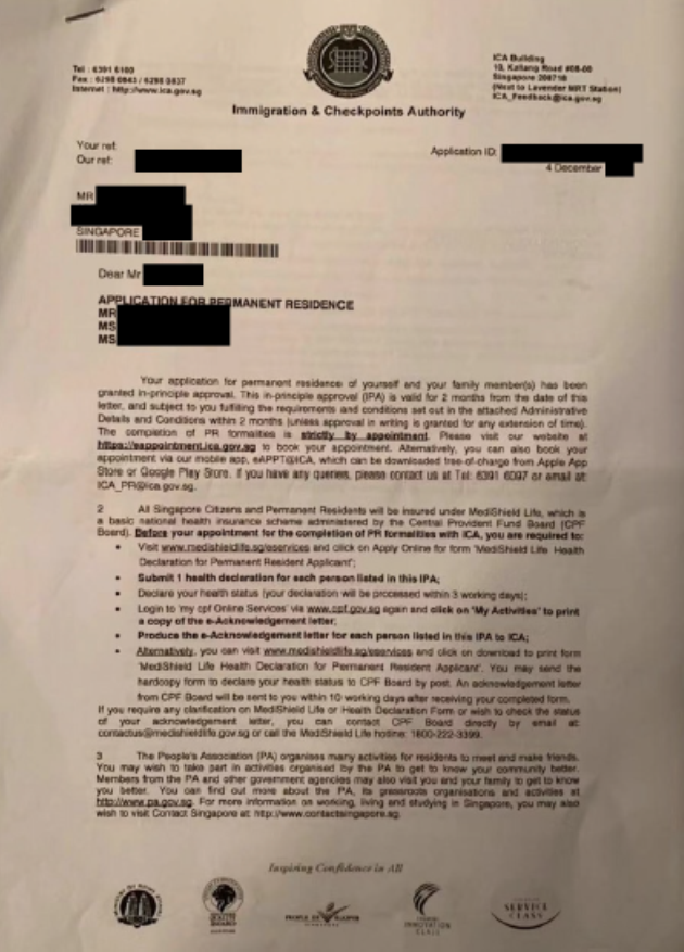 Approve Letter